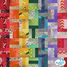 Check out this amazing quilt design on @PatternJam