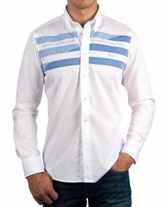 Camisas Hombre Harmont & Blaine ® Blancas | ENVIO GRATIS