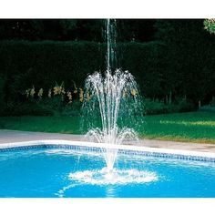 Polaris WaterStars floating fountains are easy to install and can be set up and running within minutes.