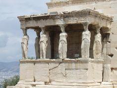 Erectheum & Porch of the Maidens, Acropolis, Athens, Greece