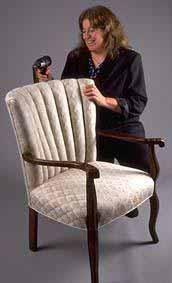 Great site for learning or tips on how to properly upholster furniture, cutting and sewing basics, slip covers, pillows ,etc. I have taken classes but found this site, very, very, good source online.