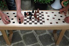 chess bench