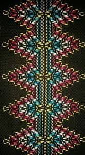 Discover thousands of images about Huck Embroidery / Punto Yugoslavo / Swedish Weaving / Bordado Vagonite Silk Ribbon Embroidery, Cross Stitch Embroidery, Embroidery Patterns, Hand Embroidery, Cross Stitch Patterns, Cross Stitches, Loom Patterns, Free Swedish Weaving Patterns, Bargello Needlepoint