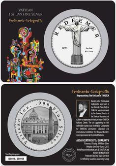 A Vatican Redeemer CoinCard