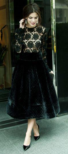 lace + velvet. timeless elegance.