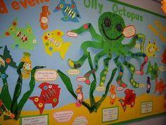 ocean preschool bulletin board - Google Search