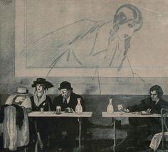 Rafael de Penagos (1889-1954)  Spanish