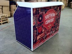 Southern Comforts Professional Portable Bar By: The Portable Bar Company!