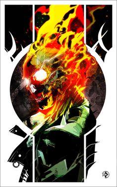 Ghost Rider commission!!!! by LeoColapietroArt on DeviantArt