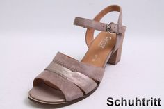 Sommerliche Gabor Sandaletten im modischen grau Farbton gehalten. Diese bequemen Gabor Sandaletten besitzen die komfort Schuhweite G.  Hersteller: Gabor  Modell: Sandaletten  Farbe: grau  Obermaterial: Leder  Innenmaterial: Leder...