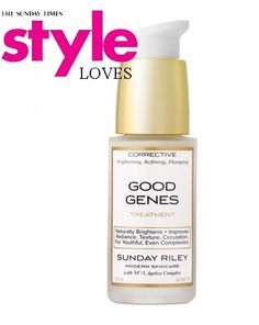 #Top10 #CultBeauty Good Genes, Serum & Mask by Sunday Riley