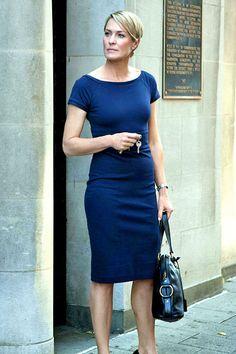 Blue skirt and T shirt