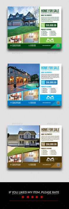 Buy Real Estate Flyer by Creative-pixel on GraphicRiver. Specifications: 3 colour Variation -Size inch + inch bleeds (Print Size) - Fully editable Illustrator A. Flyer Design Inspiration, Print Design, Graphic Design, Free Flyer Templates, Real Estate Flyers, Flyer Layout, Free Fonts Download, A4, Purple
