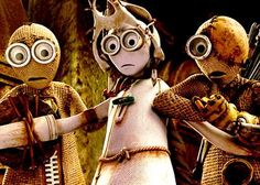 Adapted by creator Shane Acker from the short film of the same name, and produced by Tim Burton (who knows a thing or too about creepy and unconventional animated films), comes CGI animation in the style of stop-motion, Acker's […] Steampunk Movies, Steampunk Costume, Steampunk Clothing, Animation News, Computer Animation, 9 Tim Burton, Movie Photo, Movie Tv, 9 Film