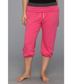 Ryka Plus Size Folded Waist Capri at 6pm.com