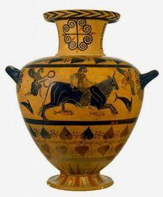 Idria ceretana, 530 a.C. Il rapimento di Europa Museo Nazionale Etrusco di Villa Giulia, Roma