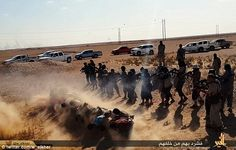 Crimes against humanity: ISIS executions in Iraq, 2014.