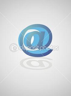 tecnología, e-mail. @
