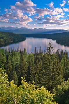 Holland Lake in western Montana is an off-the-beaten-path travel experience. We're adding it to our Montana travel to-do's. Big Sky Montana, Seeley Lake Montana, Montana Landscape, Big Sky Country, Road Trip Usa, Stargazing, Nature Pictures, Travel Usa, The Great Outdoors