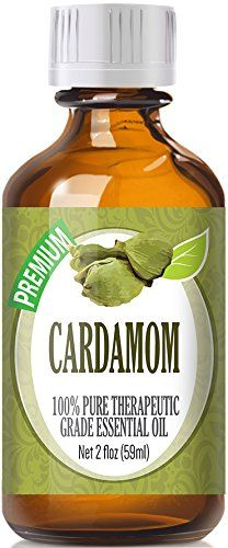 Cardamom (60ml) 100% Pure, Best Therapeutic Grade Essential Oil - 60ml / 2 (oz) Ounces -- See this awesome image  : ginger essential oil