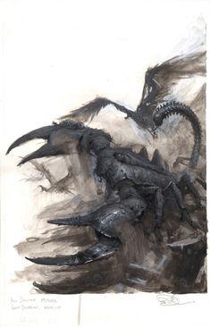 Paul Dainton - Warhammer Tomb Kings Army Book - 2002 Comic Art
