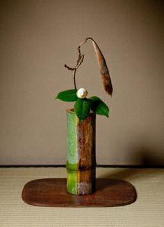 Japanese art of arranging flowers, Ikebana 生け花