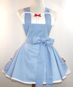 Dorothy Apron. Wizard Of Oz Costume by WellLaDiDaAprons on Etsy