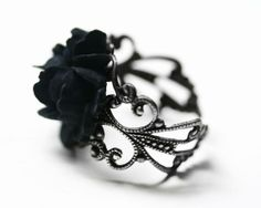 I found 'Black Rose Ring (Color Black) (Color Black)' on Wish, check it out!