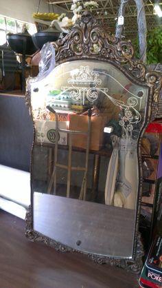 GORGEOUS vintage mirror
