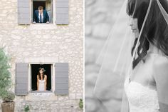 bride & groom's portrait // Wedding photographer Provence, France   Village Lacoste, Luberon Valley