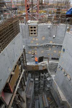 Flamanville, le 24 juin 2011. Le réacteur EPR est le premier réacteur de Génération III+ en construction, du parc nucléaire français et le 100 ème réacteur commandé à AREVA. COMMANDE N° 2011-0749 ACCORDWEB