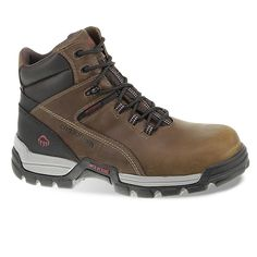 Wolverine Tarmac Men's Waterproof 6-in. Composite-Toe Work Boots, Size: medium (11.5), Lt Brown