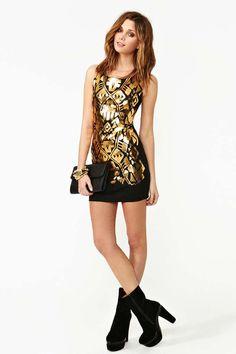 Golden Touch Dress