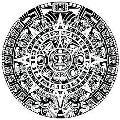 Silueta de la Piedra del Sol, conocida en muchas partes del mundo como Calendario Azteca.  Descargar: https://mega.co.nz/#!xZoXgRgI!V7eTsRO6u8uPcPPPwas0PxQKHIRIRX99mux0Qcra6HY