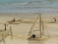 3d optical illusion sand art jamie harkins