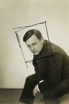 Tristan Tzara by Man Ray. I always love seeing Man Ray's crops. They were often very extreme, as seen in this example. Tristan Tzara, Man Ray Photography, Portrait Photography, Dada Artists, Hans Richter, Martin Parr, Paris, Francis Picabia, Lee Miller