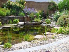 Garten Im Mediterranen Stil Anlegen   Lavendel Als Akzent | Garden |  Pinterest | Stone Patios, Backyard And Gardens