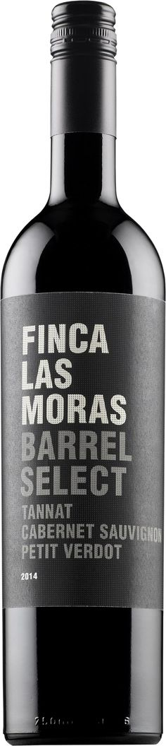 Finca Las Moras Barrel Select Tannat Cabernet Sauvignon Petit Verdot 2014