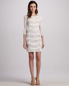 Graham Spencer Paisley Lace Dress Graham - Spencer