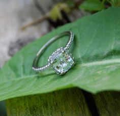 EidelPrecious makes the most beautiful and unique engagement rings.  I'm so in love with this one.