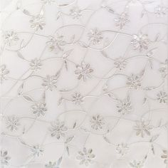 Narcissus Thassos And Mother Of Pearl Tile | Tilebar.com