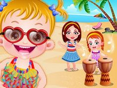 NEW Baby Hazel Beach Party Baby Hazel's cousins, Ashley and Elisa are th...