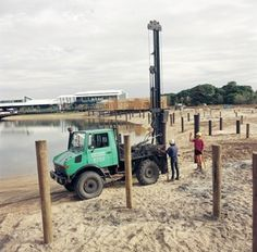 One of my brothers is going to be getting some piling contracting done. Their foundation took a beating over the summer. That's a risk with beach-side property.
