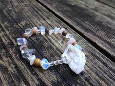 The Celestial Bracelet Herkimer diamonds by EmilysReikiBracelets Gorgeous!!