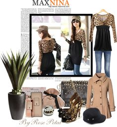 """""""~..out & about in her Maxnina..~"""" by white-rosepetal ❤ liked on Polyvore"""