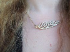 ZAD - Feather Necklace