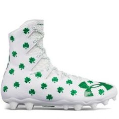 923fef7a7ba UA Limited Edition Shamrock Highlight Lacrosse Cleats