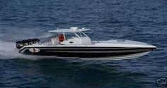 08 Cigarette Top Fish Boat