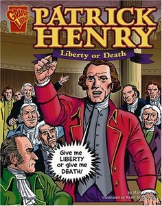 What interesting hook can i use for my rhetorical essay about Patrick Henry's speech?