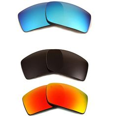 8355fe2dce New SEEK OPTICS Replacement Lenses Oakley GASCAN Black Red Blue      Continue to the product at the image link.